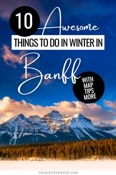 The Ultimate Guide to How to Plan a Perfect Winter Weekend in Banff, Canada. I winter in Canada I where to go in Canada I Canada national parks I Canada destinations I photos of Canada I things to do in Banff I what to do in Banff I where to go in Banff I places to go in Banff I places to go in Canada I Canada travel I Banff travel I Canada outdoors I Canada winter destinations I what to do in winter in Canada I winter travel I Banff in winter I winter in Banff I #Canada #Banff Travel Usa, Travel Tips, Travel Advice, Travel Guides, Banff Canada, Canada Canada, Alberta Canada, Best Places To Travel, Cool Places To Visit