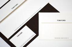 Tom Ford branding, stationery design, packaging design for Tom Ford Eyewear and…