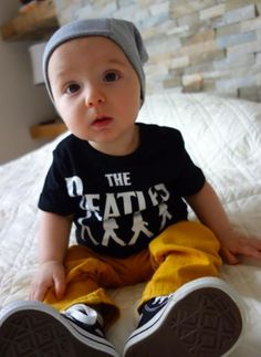 Beatles. Baby Converse. Classic. I want to kiss you all over your cute little face.