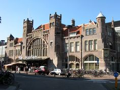 The only remaining Dutch train station in Art Deco style is in Haarlem.