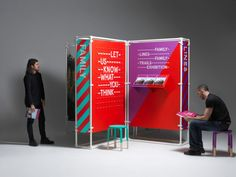 (via Family Lines Family Trails — Kutchibok — Beautifully crafted design) School Exhibition, Interactive Exhibition, Exhibition Stand Design, Exhibition Display, Environmental Graphic Design, Environmental Graphics, Corporate Event Design, Wayfinding Signs, Architecture Sketchbook