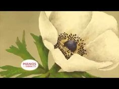 (Pintura Decorativa) Como pintar una flor con Espatula y Acrilicos profesionales? - YouTube