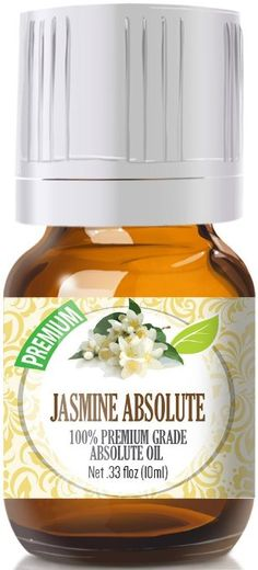 Jasmine Absolute Oil - Premium Grade, 5ml by Healing Solutions Essential Oils