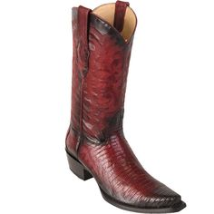 georgetowncowboyboots - Snip Toe Teju Lizard Handcrafted Mens Boots Burgundy by Los Altos, $279.95 (http://www.georgetowncowboyboots.com/snip-toe-teju-lizard-handcrafted-mens-boots-burgundy-by-los-altos/)