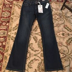 Curvy boots cut jeans! Brand new never worn! All profits get donated to kids with cancer and I ship same day!😊 American Rag Jeans Boot Cut