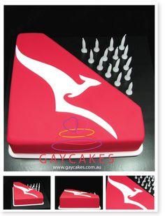 Corporate Cakes | Gay Cakes - QANTAS