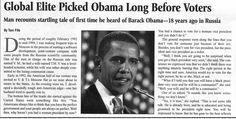 Former DIA Contractor Recounts Startling Tale of First Time He Heard of Barack Obama—18 Years Ago in Russia. | RedFlagNews.com