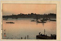 1926 - Yoshida, Hiroshi - Sumida River - Evening