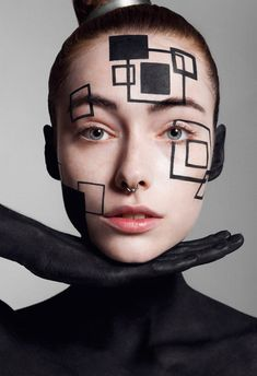 Junya Watanabe - Yumi Lambert dons conceptual fashions in 'Junya Watanabe', an editorial that is captured for the pages of 10 Magazine. The image series...