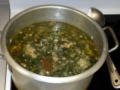 Traditional Portuguese Holy Ghost Soup Sopas Do Espírito Santo (Terce, ,