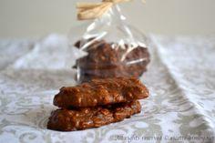 Biscotti di riso e cioccolato bimby