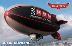 ESPN's Colin Cowherd will voice Colin Cowling in Planes Disney Planes Characters, Planes Movie, Disney Cars Movie, Planes Party, Disney Pixar Movies, Disney Fun, Disney Stuff, Zeppelin, Planes 2013