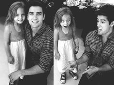 He's so cute with kids :)