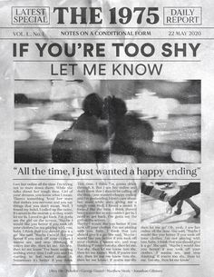 if you're too shy (let me know) - the 1975