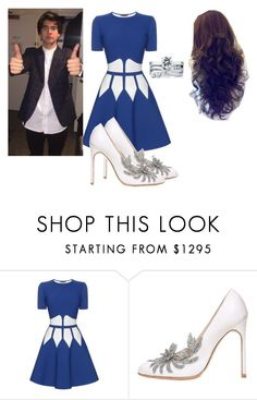 """""""Cal proposes."""" by jasloves5sos ❤ liked on Polyvore featuring Alexander McQueen, Manolo Blahnik, BERRICLE and calumhood"""