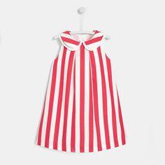 Cute Dresses, Girls Dresses, Summer Dresses, Couture Bb, Jacadi Paris, Jupe Short, Occasion Wear, Pink Stripes, Summer Wardrobe