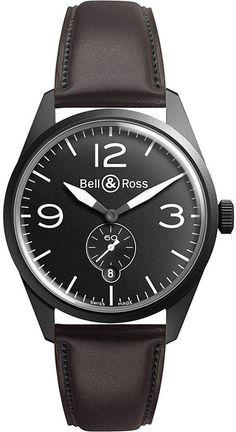 Bell & Ross Vintage brww197-Bl-St/Scr Watch - for Men