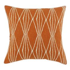 Shop for Handcut Shapes Orange Crush 17-inch Throw Pillow. Free Shipping on orders over $45 at Overstock.com - Your Online Home Decor Outlet Store! Get 5% in rewards with Club O!