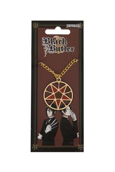 Black Butler II Alois Seal Necklace | Hot Topic  I WANT THISSS