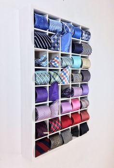 Pin By Jason On Ties Tie Storage Tie Organization Tie Box