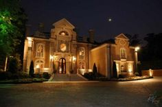 Italian Country House- Where Rick Ross would host a party of luxury fit for a king.