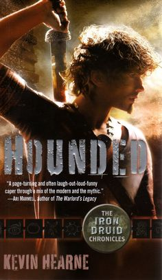 Here's my blog: Atomic Pirate Girl's Book Worm Booty: Hounded - Kevin Hearne