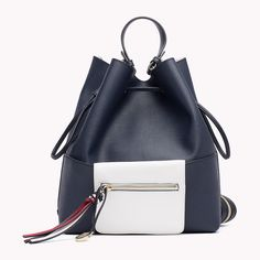 Tommy Hilfiger Bucket Bag/backpack - tommy navy / bright white (Blue) - Tommy Hilfiger Hobo Bags - immagine principale