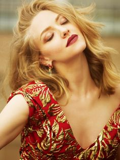 Amanda Seyfried in ELLE China September 2016Ph: Feng Hai  Amanda Seyfried in…