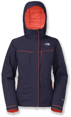 A waterproof, breathable jacket with sealed seams and insulation to keep you warm & dry—The North Face Women's Inlux Insulated Jacket.
