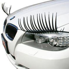 fun stuff for a car, eyelashes, funni, car eyelash, awesom, random pin, gift productsiwouldlovetohav, car lash, thing