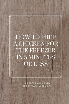 Do you want to freeze a large batch of chickens to supply you with meat all winter long? This article and informational video will show you how. It's easy to do and can be done with your own backyard broilers. Meat Chickens Breeds, Raising Meat Chickens, Keeping Chickens, Frugal Meals, Frugal Recipes, Budget Meal Prep, Organic Chicken, Specialty Foods, Eating Organic