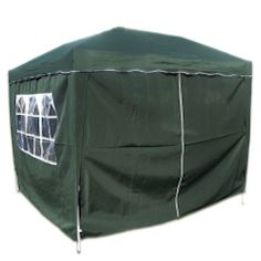 10'X10′ Pop Set Up Canopy Tent Gazebo Including 4 Sidewalls