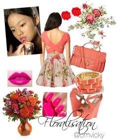 """Floralisation"" by vicky-wanwisa-charoenkul on Polyvore"