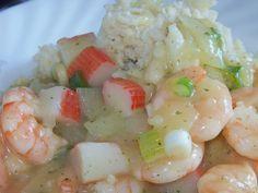 Paleo Shrimp and Crab Etouffee