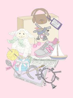 Custom WIMB mini poster for nursery by EmmaKisstina, $135  www.emmakisstina.com