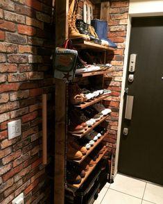 靴収納は工夫次第でおしゃれで見やすくなる♪靴収納の実例をご紹介 ... ヴィンテージスタイルな収納