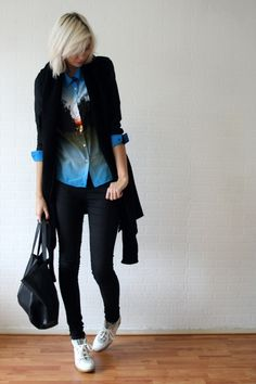 OUTFIT / BLUE FOREST - Connected to fashion   creatorsofdesire.com