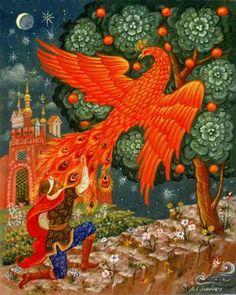 The Firebird a Russian Tale.