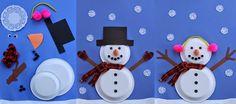Περί μαθησιακών δυσκολιών: Χριστουγεννιάτικες κατασκευές με χάρτινα πιάτα!