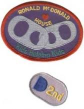 Girl Scout troops can set goals for collecting pop tabs and earning this patch to benefit Ronald McDonald Houses! Troops are responsible for purchasing the patch and setting guidelines.