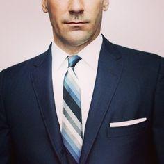 John Hamm #eyecandy #madmen @Chris Cote Suit #dashing