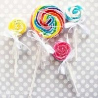 Lollipop Candle