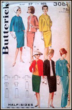 Vintage 1960s Butterick 3084  Wardrope Pattern by ThePatternShopp, $20.00