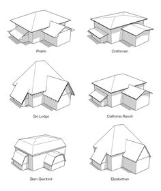 Before hiring a roofer, ask if the workers used are sub-contractors *** You can get additional details at the image link. Architecture Drawing Sketchbooks, Architecture Concept Drawings, Roof Architecture, House Roof Design, Roof Shapes, 3d Home, House Drawing, Building Design, Image Link