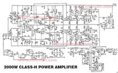 Car power amplifier circuit using Output Transistor / Power Output About RMS at 8 Ohm. By using this amplifier project you can more audio on car subwoofer amplifier Hifi Amplifier, Class D Amplifier, Subwoofer Speaker, Electronic Circuit Design, Electronic Engineering, Power Supply Circuit, Electronic Schematics, Speaker Design, Circuit Diagram