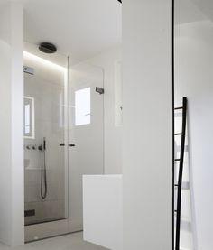 Pimpelwit : Een witte badkamerinrichting - bathroom inspiration