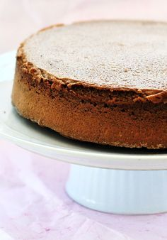 Bizcocho de chocolate sin gluten y sin lactosa
