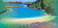 Pantai Ngrenehan yang Mempesona di balik birunya lautan,,