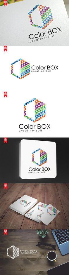 Creative Color Box - Logo Templates. Logo Templates