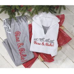 Rise And Ride Lounge Pants - Horse Themed Gifts, Clothing, Jewelry and Accessories all for Horse Lovers   Back In The Saddle